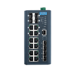 Switch gigabit 16 puertos 100/1000, EKI-7716G-4F4CI