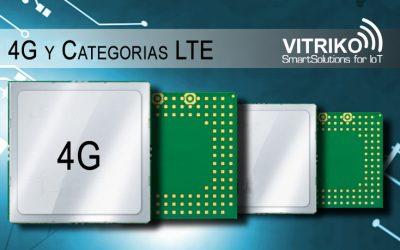 Categorías 4G LTE