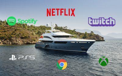 ¿Internet en tu barco? Te explicamos como tener WiFi a bordo.