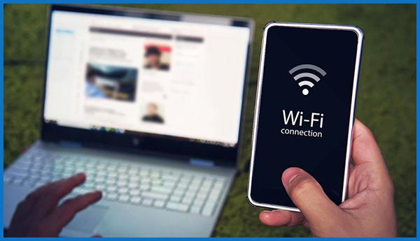 movil como punto wifi para caravana