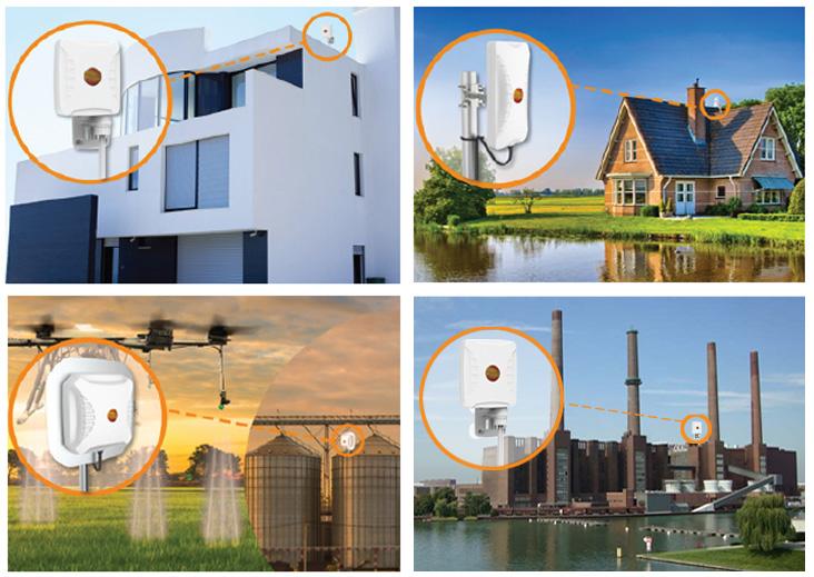 Aplicaciones que conectan las antenas 5G